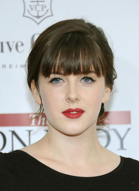 Alexandra Roach at the New York premiere of &quot;The Iron Lady.&quot;